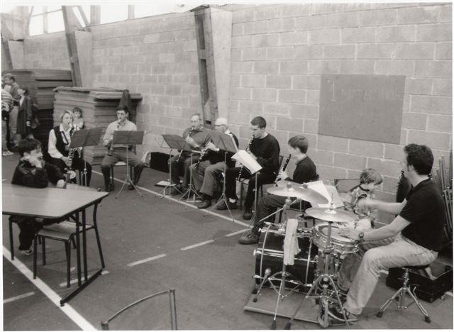 Groupe de Clarinettes PLO 01 Mai 1999