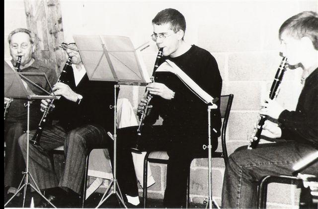 Groupe de clarinettes PLO partiel 01 Mai 1999